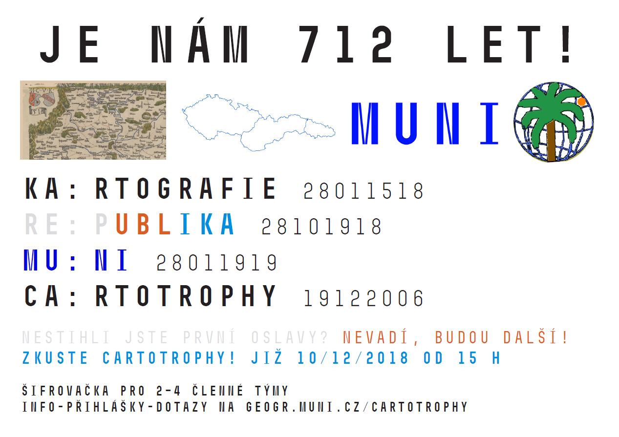 plakát Cartotrophy 2018