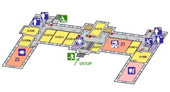Plán budovy č.5 pro tisk