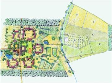 Regionální vymezení projektů zaměřených na permakulturní design