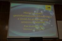 Vystoupení na katedře geoinformatiky UPOL
